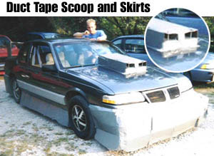 Above Some Kids At School Decided That Body Kits On Cars Were Cool So I Showed Them A Kit Didnt Have To Cost 3000 Look