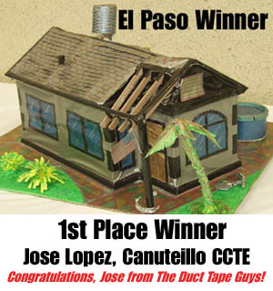 The Habitat For Humanity Duct Tape House Contest