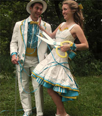 Duct Tape Prom Dresses