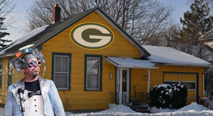 Jim Will Not Cover His Neighbors House Entirely In Green And Yellow Packer Color Duct Tape Ever Again With Asking Him First